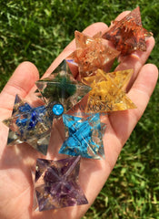 Orgone Chakra Stars - Merkaba Stars - New Moon Beginnings - 1