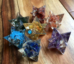 Orgone Chakra Stars - Merkaba Stars - New Moon Beginnings - 2