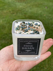 Fresh Balsam Candles - Winter Holiday Scent - 6 Sizes Available!