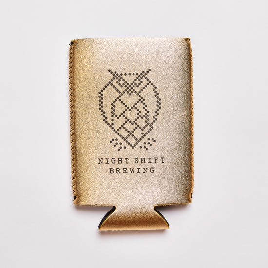 16oz Koozie - Gold