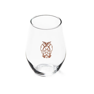 Wire Owl - 19oz Concerto Glass