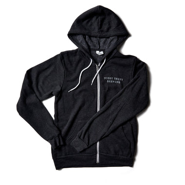 Dark Heather Grey Zip-Up Hoodie