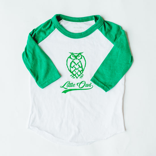 Toddler T's - Baseball - Green