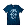 Deep Teal Owl Logo T-Shirt