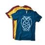 Maize Yellow Owl Logo T-Shirt