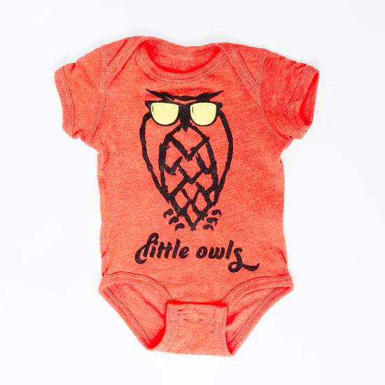 Baby Onesie - Sunnies - Orange - FINAL SALE