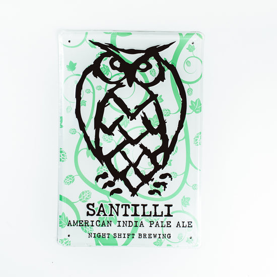 Night Shift Brewing Tin Tacker - Santilli