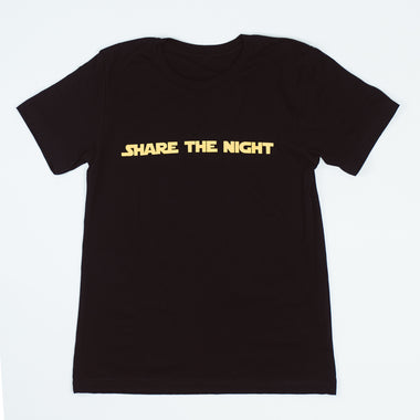 Share The Night Retro T-shirt