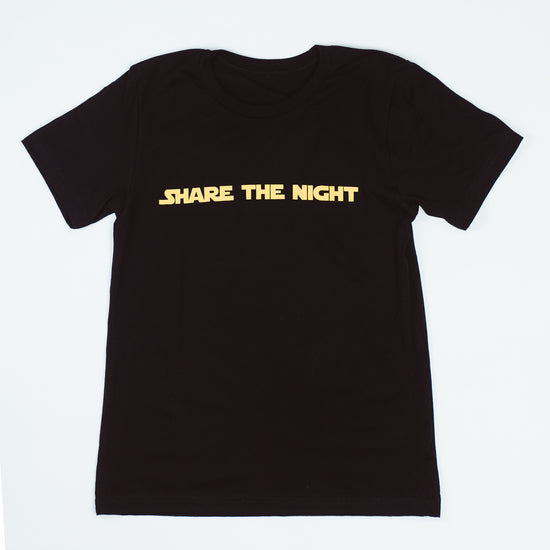 Share The Night Retro T-shirt - FINAL SALE