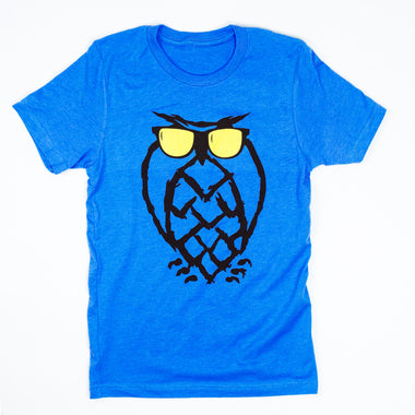 Sunnies Owl T-Shirt - Blue