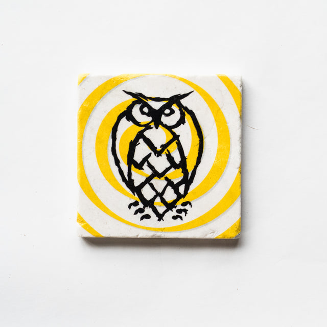 Night Shift Whirlpool Marble Coaster