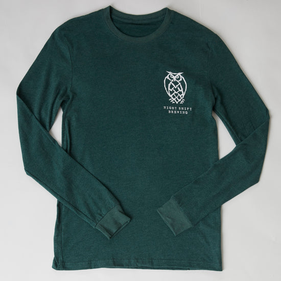 Dark Green Can Long Sleeve T-shirt