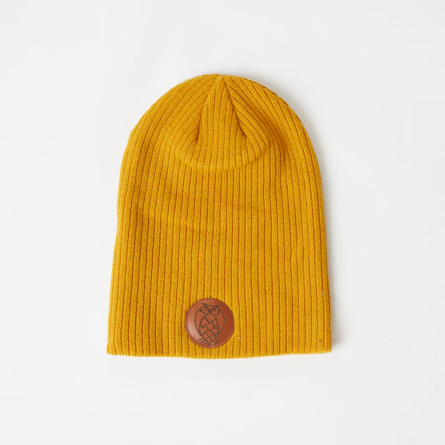 Yellow Slouchy Beanie - FINAL SALE