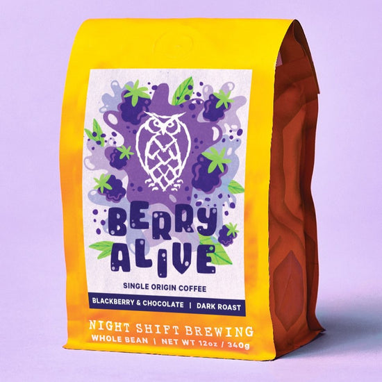 Berry Alive: Dark Roast Single Origin