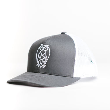NSB Trucker Hat - Grey/White