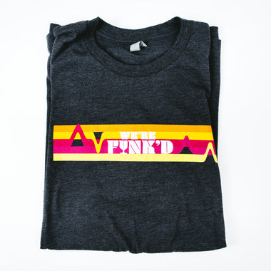 Grey Unisex We're Funk'd Fest Shirt