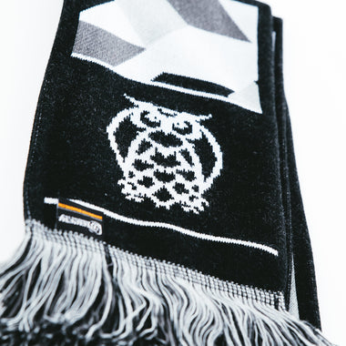 NSB Scarf - Black/Grey - FINAL SALE
