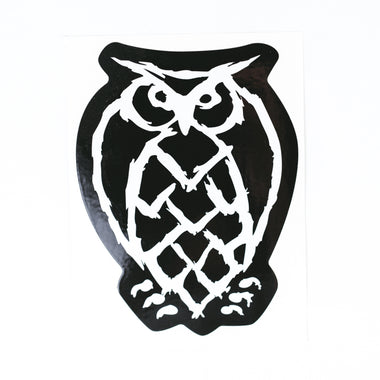 Large Die-Cut Owl Sticker