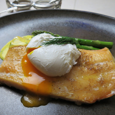 Smoked Haddock and hollandaise sauce recipe