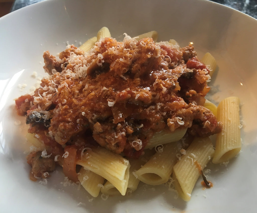 Italian Sausage Ragu - a great winter warmer!