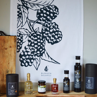 Burren Balsamics Tea Towel