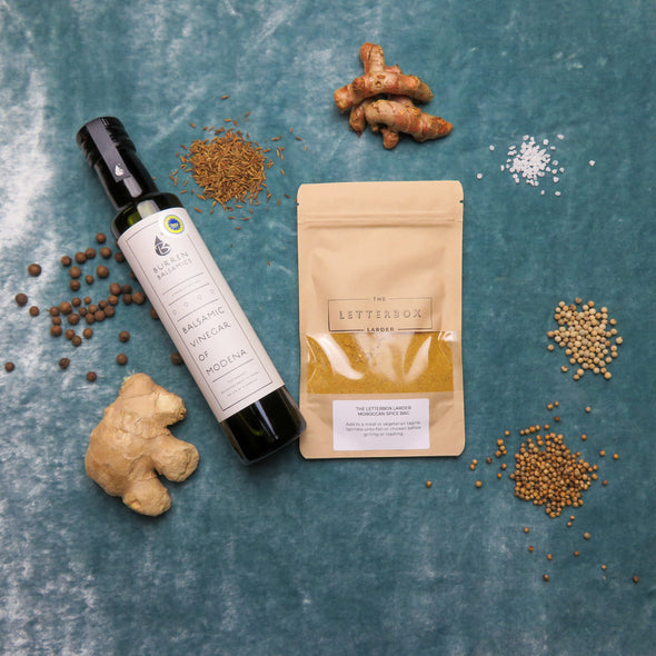 The Letterbox Larder Moroccan Spice Bag Ingredients