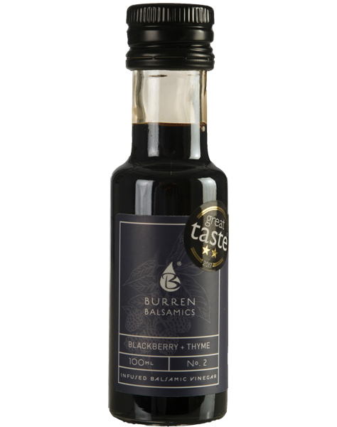 Blackberry and Thyme infused balsamic vinegar