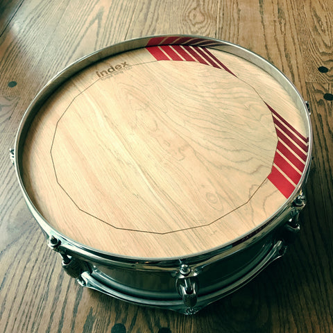 Striped Forest King Drumheads - Index Drums