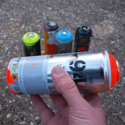 The Rattle Can - Spraypaint Can Shaker - Index Drums