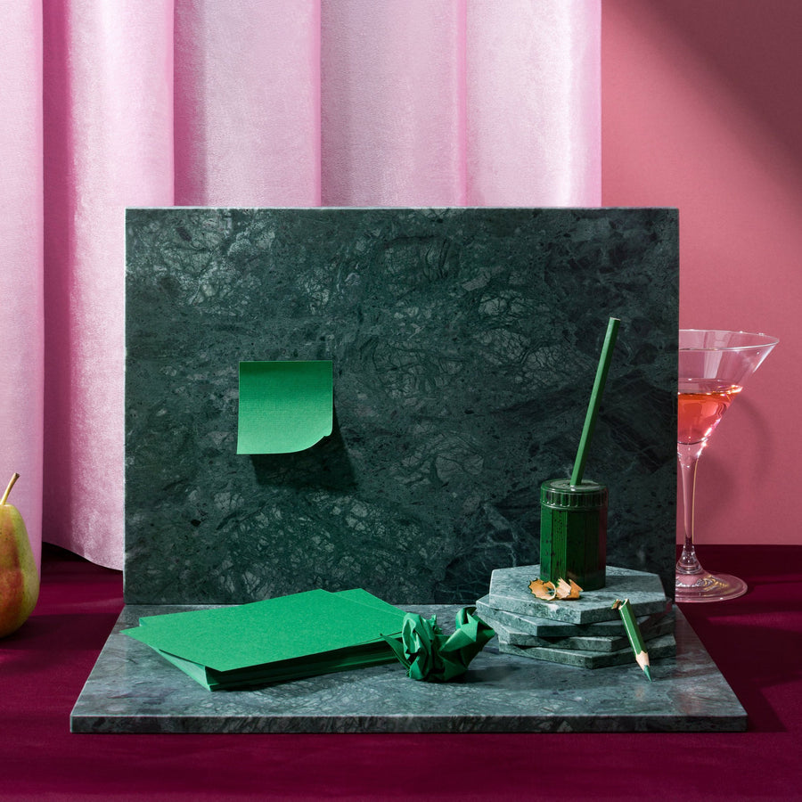 Green Rectangular Marble Board (Large)