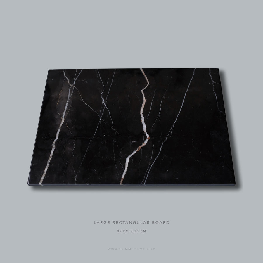 Black Marble Rectangular Board (Large)