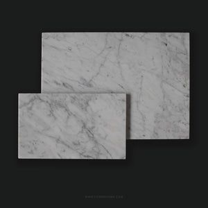 White Rectangular Marble Board (Large)