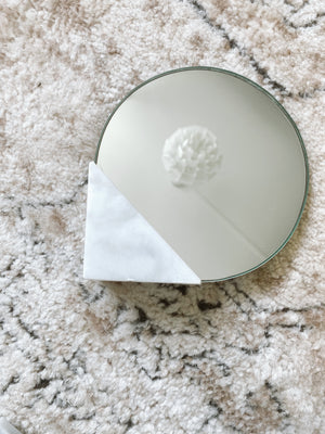 (DISPLAY SAMPLE) White Mirror (Small)