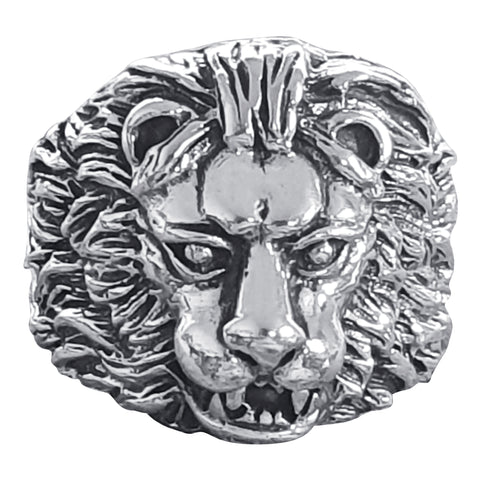 Serengeti Lion Head Ring
