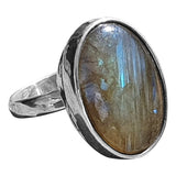 Dark Labradorite Ring