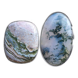 Evergreen Moss Agate Ring