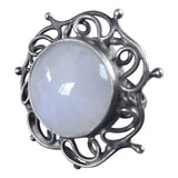 Intricate Moonstone Ring