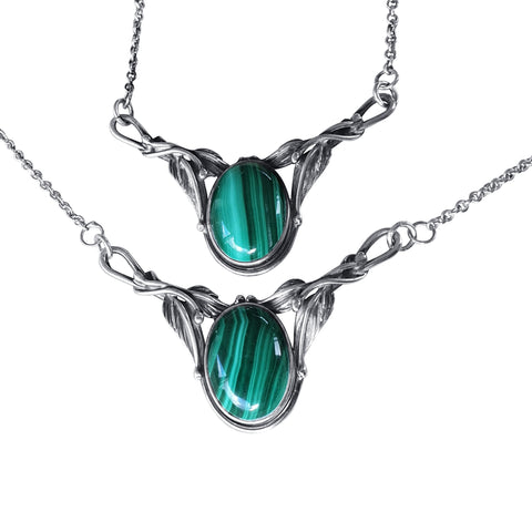 Silver Caprea Necklace