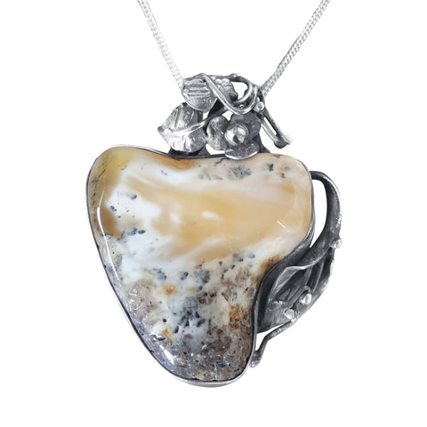 Enticing Amber Pendant