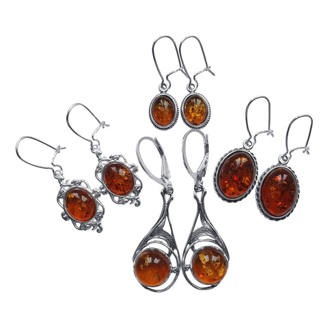 Amber Earring Selection