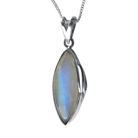Moonstone Swish Pendant