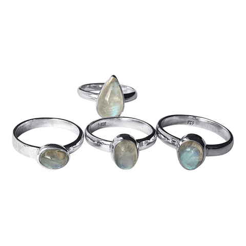 Moonstone Ring Selection