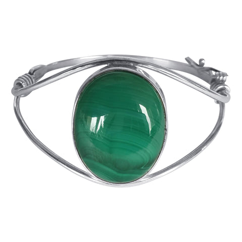 Classic Malachite Bangle