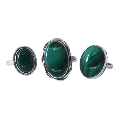 Malachite Ring Selection