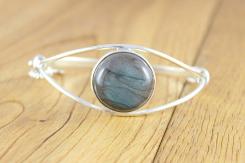 Classic Labradorite Bangle