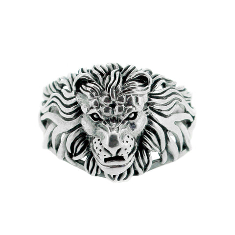 Tsavo Lion Head Ring