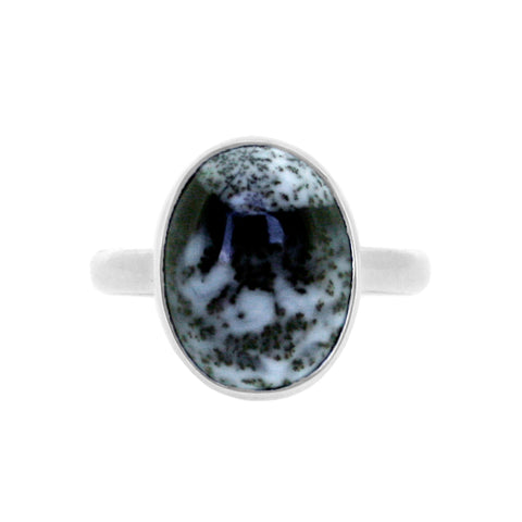 Oval Merlinite Ring