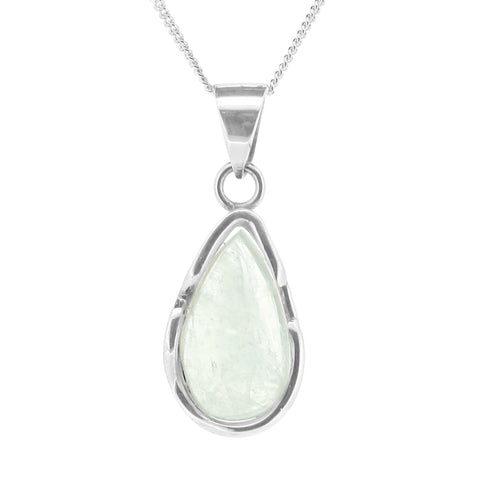 Teardrop Moonstone Necklace