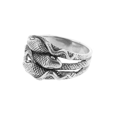 3 Headed Snake Ring