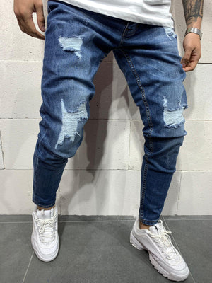 Destroyed Skinny Denim 0114